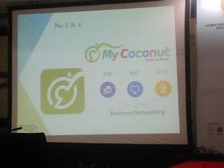 My coconut Belajar Ekonomi Digital di Santripreneur 2016