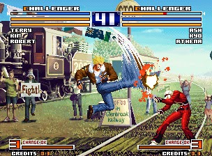The King of Fighters 2003+arcade+game+portable+retro+fighter+download free
