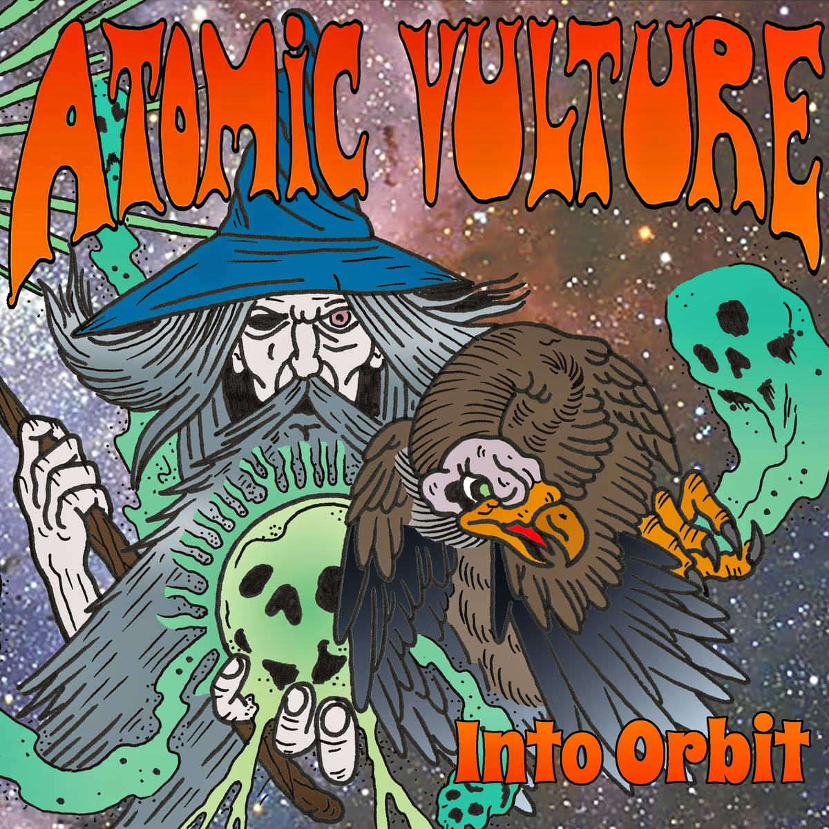 Atomic Vulture - Into Orbit