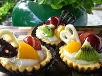 Fruit Dome Pudding