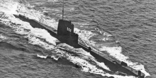 Foto Kapal Selam Perang dunia Kedua Di temui Semula Dengan Semua Krew Di Dalamnya