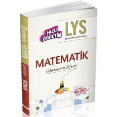 Editör Hızlı Öğretim LYS Matematik Öğretmenin Defteri