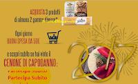 Logo Con Pasta La Molisana vinci buoni spesa e il Cenone di Capodanno