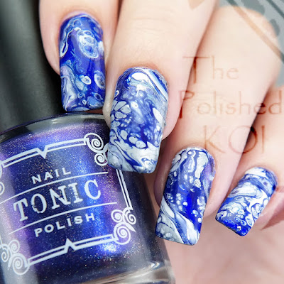 Tonic Polish Manna's Mystical Masterpiece Fluid Art