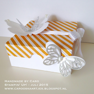 Handgemaakt door Caro - Stampin' Up! juli 2015