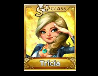 Trik Baru Cara Dapat Kartu Karakter Tricia S/S+ Line Let's Get Rich