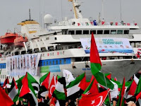 Allahu Akbar ! Aksi Solidaritas Internasional Gerakan Kapal Akan Menuju Gaza