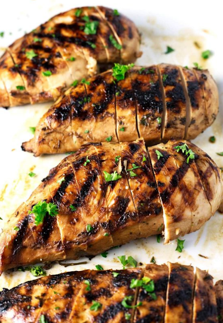 BEST & JUICIEST GRILLED CHICKEN BREAST
