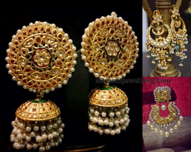 Kundan Earrings by Parnicaa