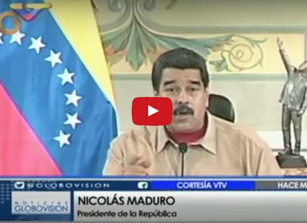 Maduro anuncia sabotaje a los billetes nuevos