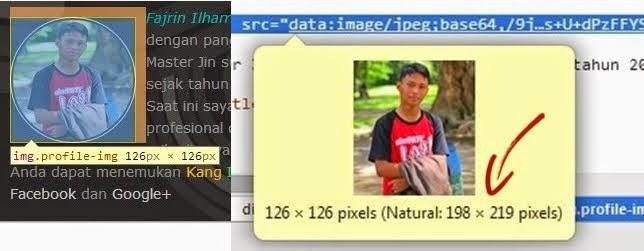 Samakan Ukuran CSS pada Gambar Asli