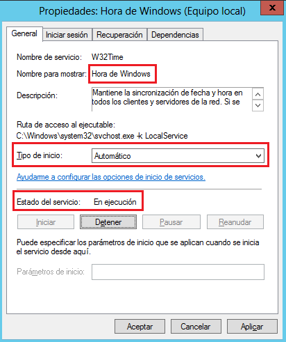 Windows: Sincronizar hora en un WORKGROUP