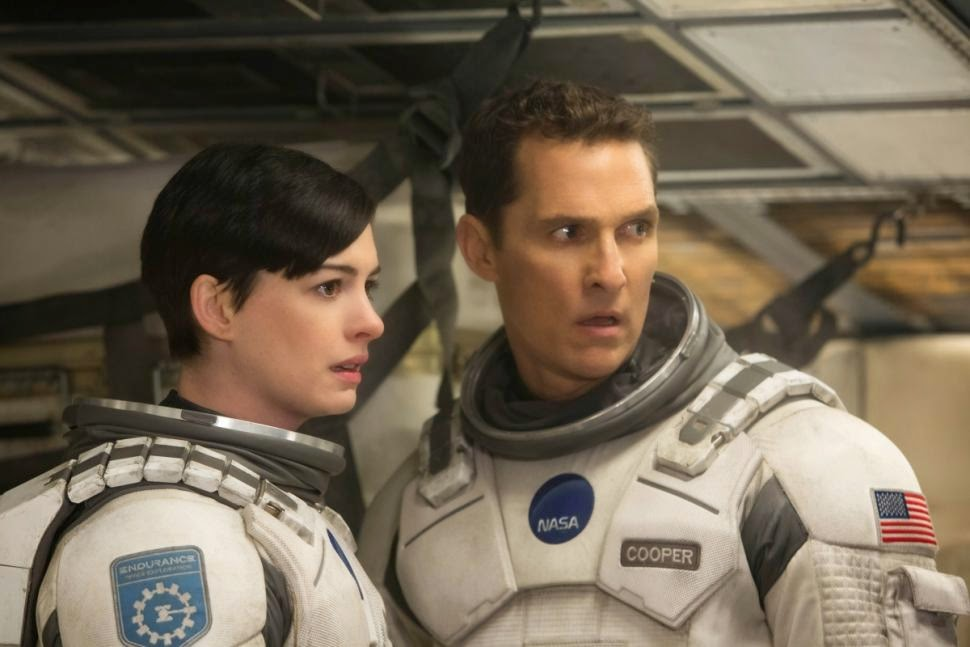 Interstellar - Anne Hathaway and Matthew McConaughey | A Constantly Racing Mind