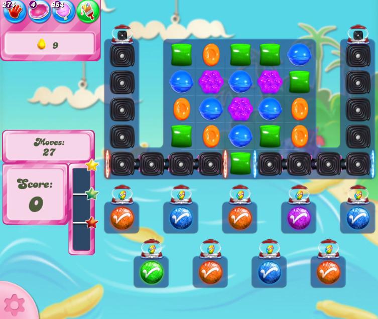 Candy Crush Saga level 2684