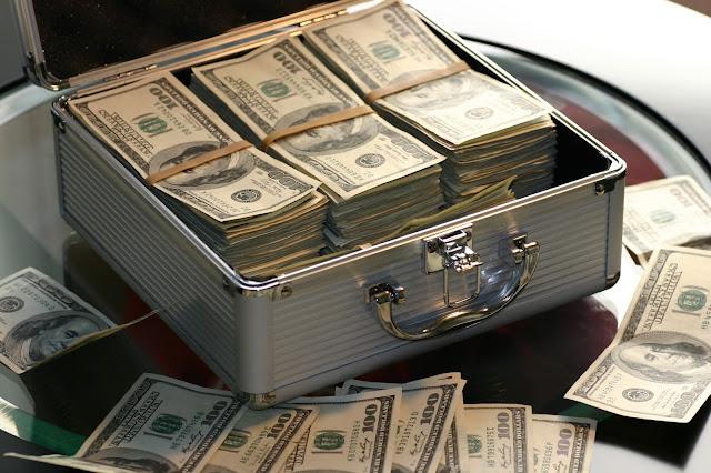 trader profissional dinheiro
