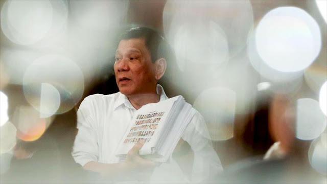"""Duterte evitó encuentro con Obama """"bajo excusa de enfermedad"""""""