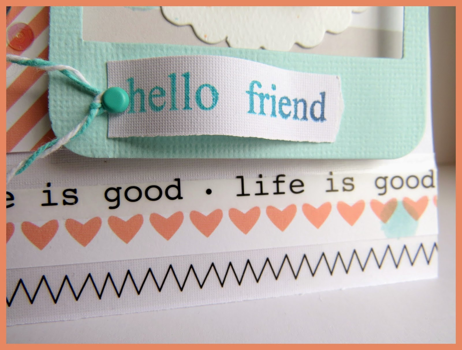 SRM Stickers Blog - ✿{hello friend!}✿ by Shannon - #card #stamps #stickers #twine