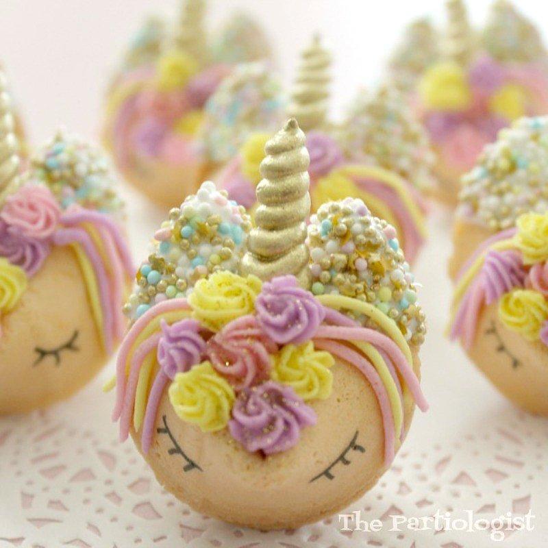 unicorn cookies via BirdsParty.com @birdsparty