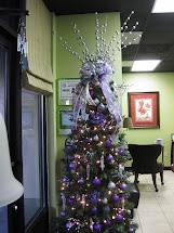 Ramblings Of Southern Girl Purple Silver & Zebra Tree