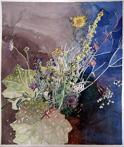 Nina Ferlov: akvarel