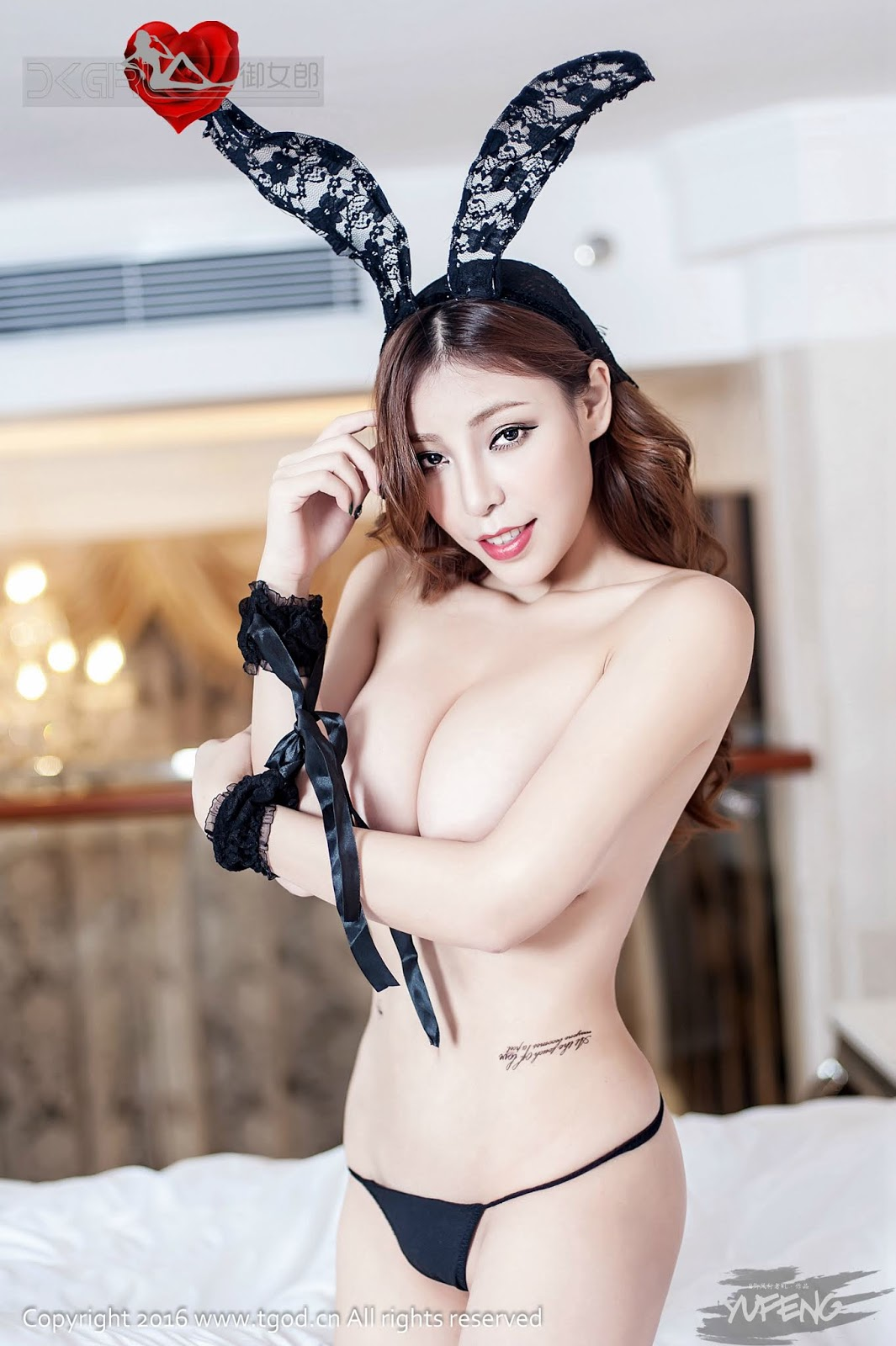 Chinese Girl Elise谭晓彤 - TGOD推女神 (58 Pict)