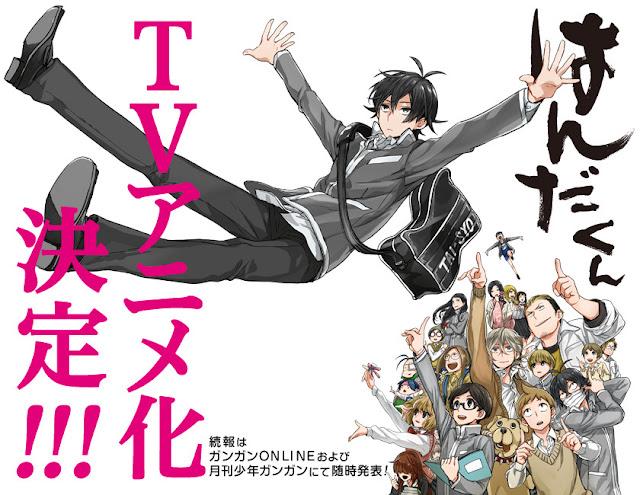 Zapowiedź anime Handa-kun