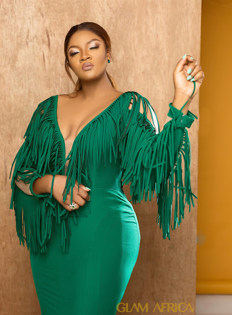 Image result for Omotola Jalade on the cover of Glam Africa Magazine.