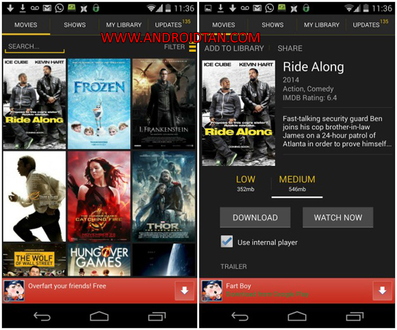 Free Download Showbox Apk Latest Version Android Full 2017