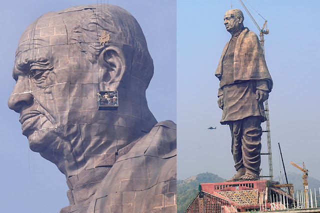 Statue of Unity: Twice the Height of Statue of Liberty, Built to Withstand 6.5 Quake | 10 Facts