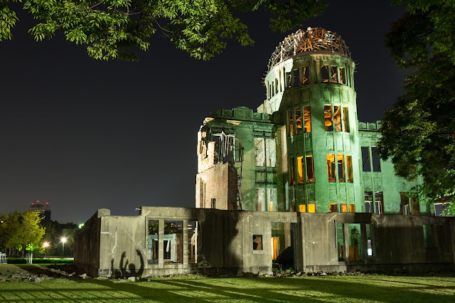 Japonsko, cestování, Hirošima, Japan, Hiroshima, A-Bomb Dome, atomový dům,