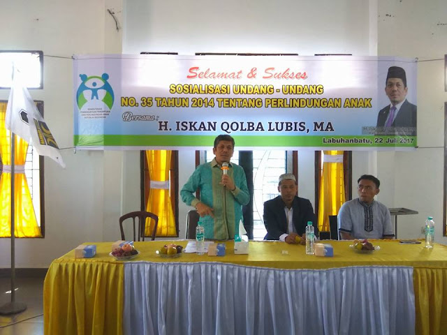 Di Penghujung Syawal PKS Labuhanbatu Adakan Halal Bi Halal Sekaligus Peringati Hari Anak Nasional Tahun 2017