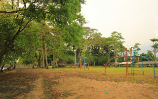 Wisata Pantai Matahari Carita di Sukanagara Pandeglang Banten
