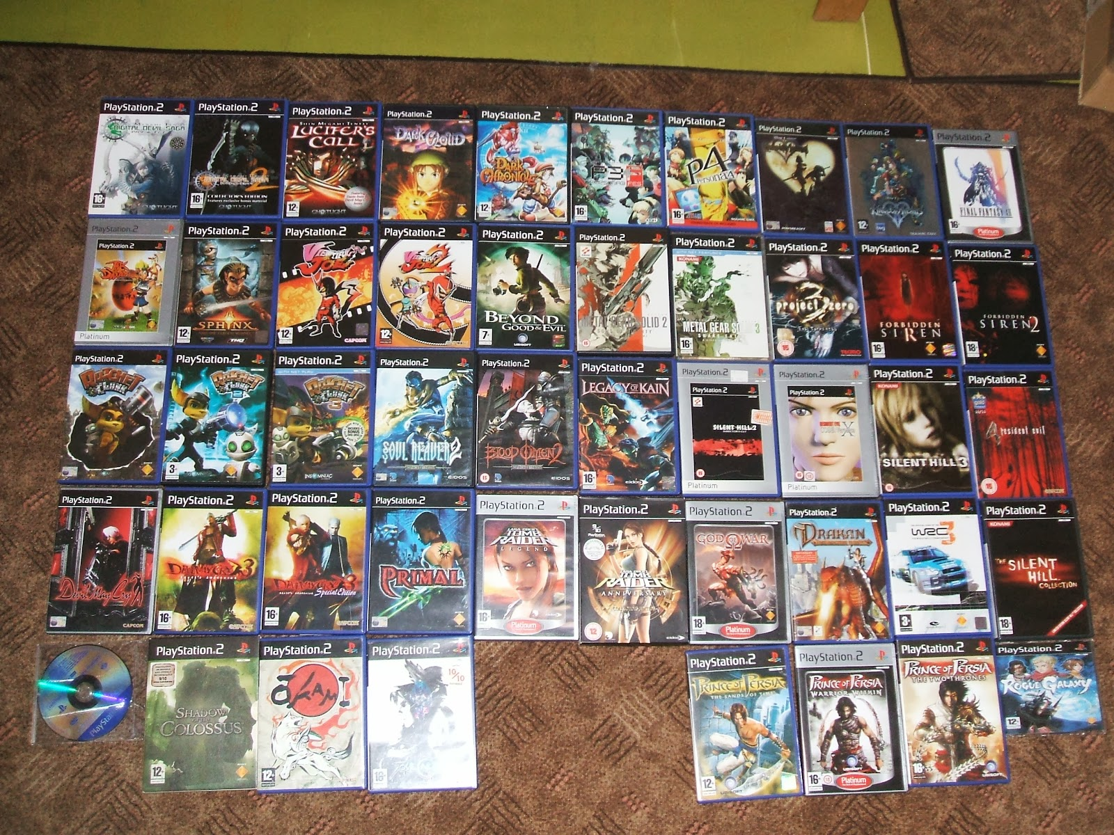 Image Gallery Ps 2 Games