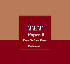 TET Paper 2 Exam - Previous Year Questions - Free Online Tests