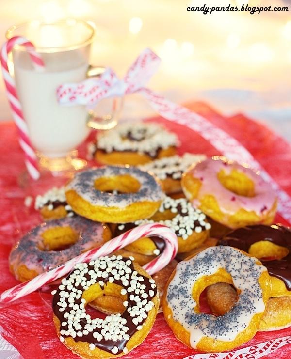 Orkiszowo-dyniowe pieczone donuts (bez laktozy, wegańskie)