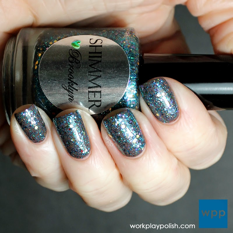 Shimmer Brooklyn over China Glaze Fois Gras