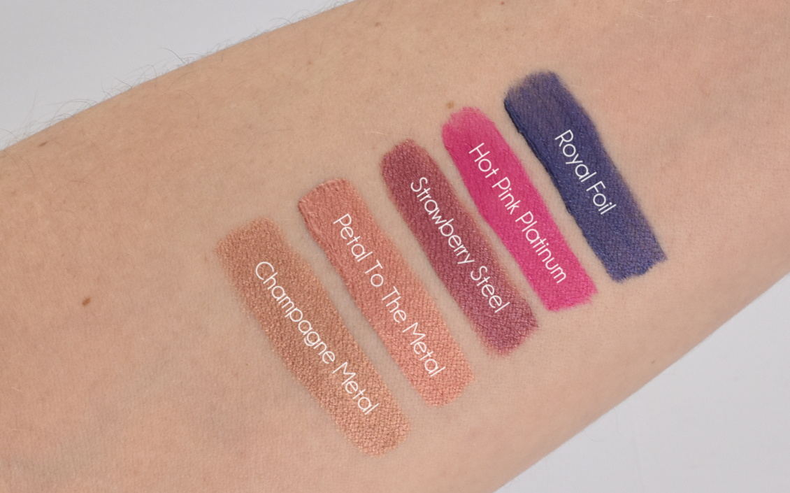 Mary Kay - At Play Matte Liquid Lipsticks Swatches