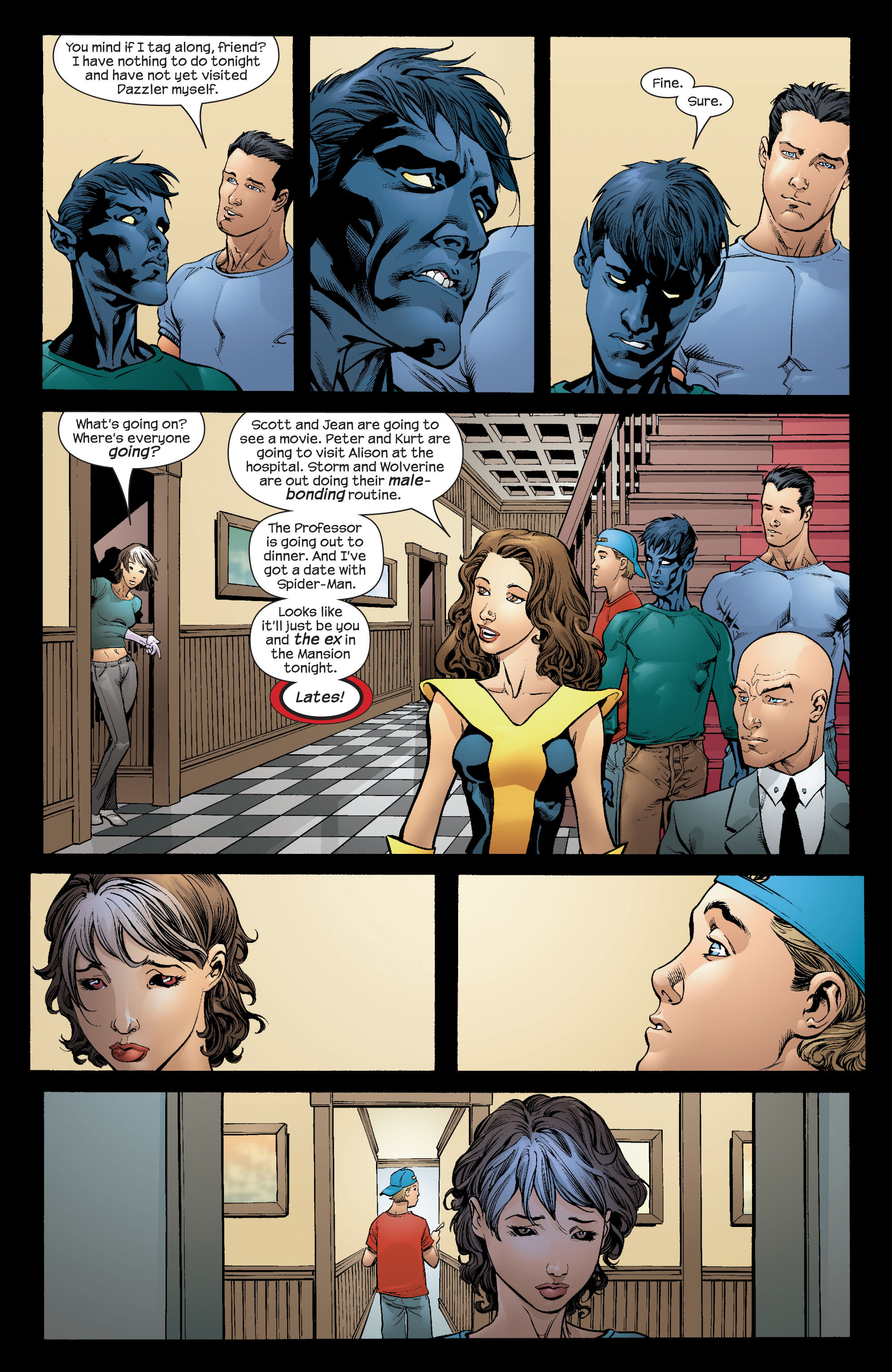 Read online Ultimate X-Men comic -  Issue #66 - 6