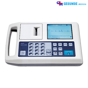 alat elektromedis EKG atau ECG 1 channel Kenz