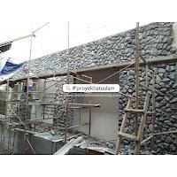 proyek batu alam candi pagar
