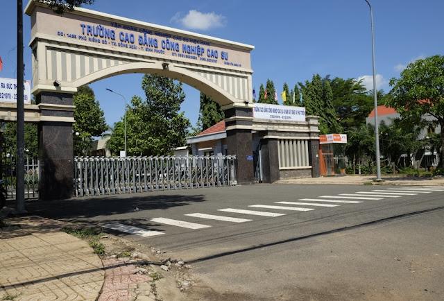 Trường cao đẳng cách Khu Đô Thị Cát Tường Phú Hưng 5 phút đi xe