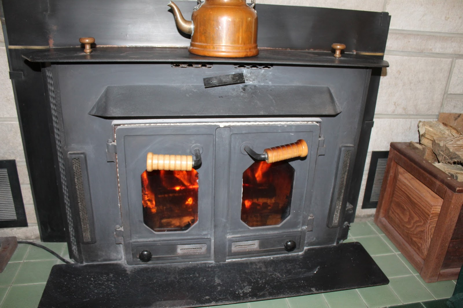 SheJunks: Our Old Buck Stove....