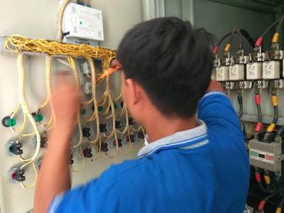 meleyani service panel kapasitor bank