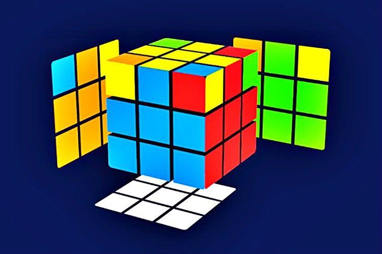 Rubik Küp'ün bu aşamasında amacınız, köşeleri bitişik merkez öğelerini renklerine uygun yerlere koymak olacaktır.