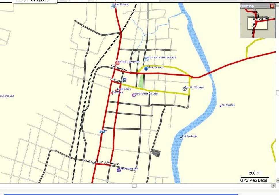Peta Kota Peta Kota Wonogiri