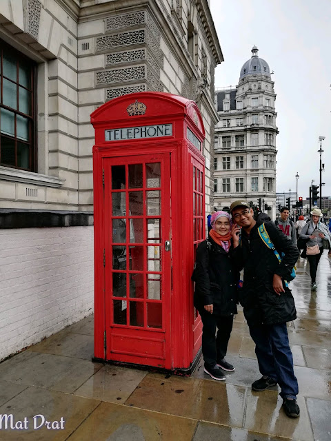 Phone Box Booth Red London