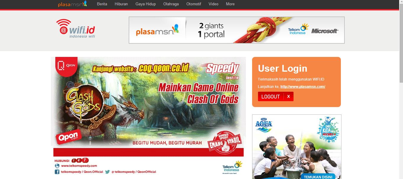 Cara login speedy di wifi.id terbaru 2014