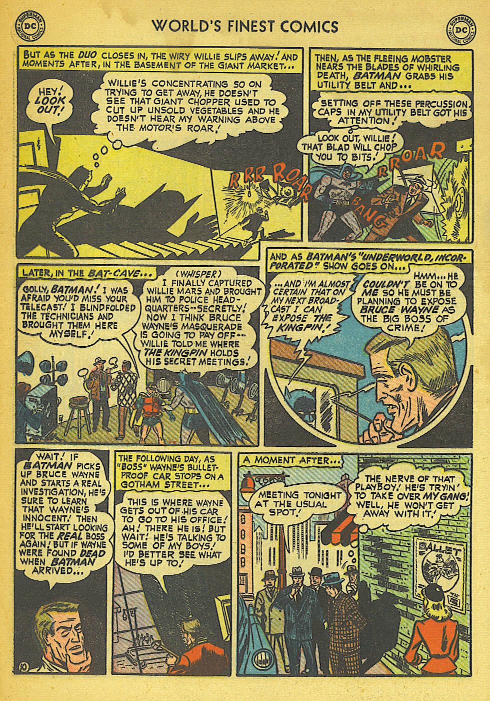 Read online World's Finest Comics comic -  Issue #57 - 62