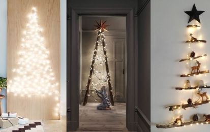 20%2BDIY%2BModern%2BChristmas%2BTree%2BDecorations%2Bfor%2BInspiring%2BWinter%2BHolidays%2B%252810%2529 20 DIY Trendy Christmas Tree Decorations for Inspiring Iciness Vacations Interior