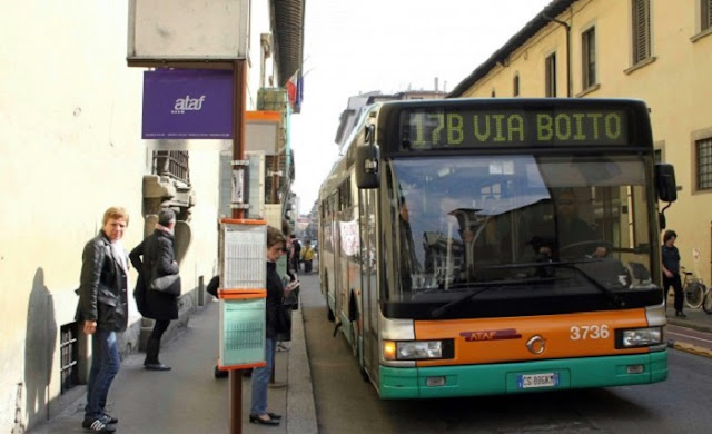Õnibus em Florença